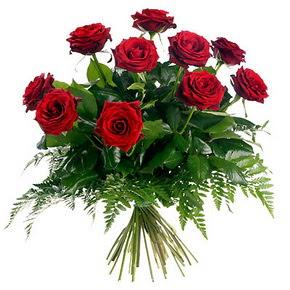 Ankara Sincan hediye çiçek yolla  10 adet kırmızı gülden buket