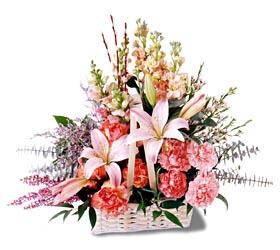 Ankara Sincan online çiçek gönderme sipariş  mevsim çiçekleri sepeti özel tanzim
