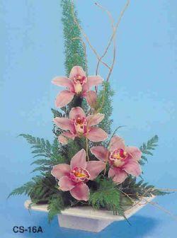Ankara Sincan çiçekçi mağazası  vazoda 4 adet orkide