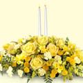Ankara Sincan çiçek siparişi vermek  sadece sarilar ve mum