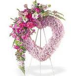 kalp içerisinde mevsim çiçekleri   Ankara Sincan 14 şubat sevgililer günü çiçek