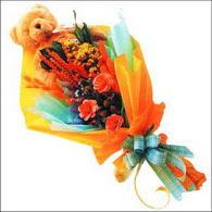 ayicik gül ve kir çiçekleri   Ankara Sincan çiçek siparişi vermek