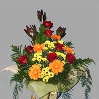 karisik güllerden buketlik   Ankara Sincan hediye çiçek yolla