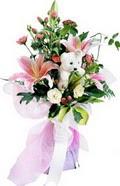 güller kazablanka oyuncak   Ankara Sincan hediye çiçek yolla