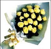 sari güllerden sade buket  sincan çiçekçi Ankara Sincan internetten çiçek satışı