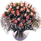 büyük cam fanusta güller   Ankara Sincan ucuz çiçek gönder
