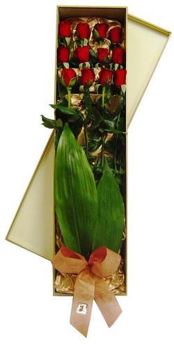Ankara Sincan çiçek siparişi vermek  görsel bir kutu içerisinde 12 adet kalite gül