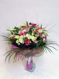 Ankara Sincan internetten çiçek siparişi  karisik mevsim buketi mevsime göre hazirlanir.