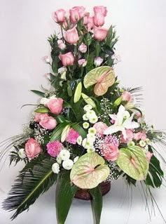 Online Ankara Sincan çiçekçiler  özel üstü süper aranjman