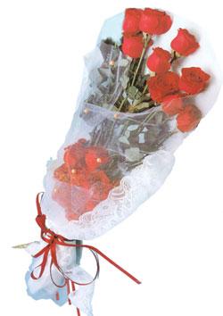 11 adet kirmizi güller buket tanzimi   Ankara Sincan online çiçek gönderme sipariş