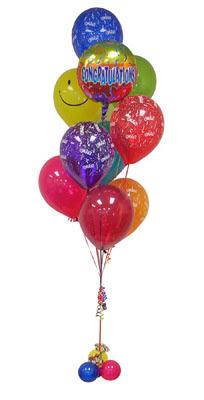 Ankara Sincan çiçek , çiçekçi , çiçekçilik  Sevdiklerinize 17 adet uçan balon demeti yollayin.