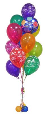 Ankara Sincan çiçek siparişi sitesi  Sevdiklerinize 17 adet uçan balon demeti yollayin.