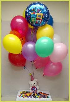 Ankara Sincan çiçek siparişi vermek  Sevdiklerinize 17 adet uçan balon demeti yollayin.