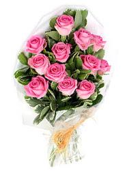 Sincan çiçek siparişi Ankara Sincan çiçek yolla  12 li pembe gül buketi.