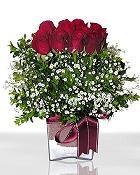 sincan çiçekçi Ankara Sincan internetten çiçek satışı  11 adet gül mika yada cam - anneler günü seçimi -