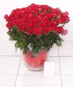 Ankara Sincan hediye sevgilime hediye çiçek  101 adet kirmizi gül