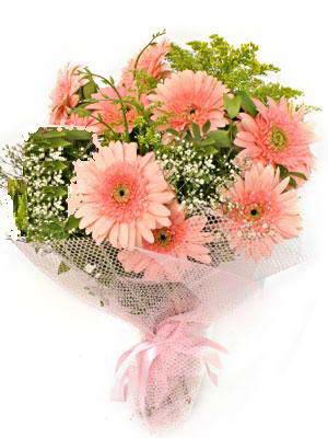 Ankara Sincan çiçek siparişi sitesi  11 adet gerbera çiçegi buketi