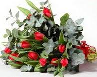 Ankara Sincan çiçek siparişi sitesi  11 adet kirmizi gül buketi özel günler için