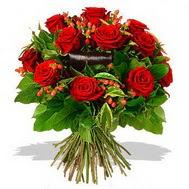 9 adet kirmizi gül ve kir çiçekleri  cicek siparisi Ankara Sincan cicek , cicekci