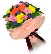Ankara Sincan çiçek siparişi vermek  Karisik mevsim çiçeklerinden demet