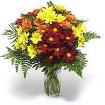 Ankara Sincan online çiçek gönderme sipariş  Karisik çiçeklerden mevsim vazosu
