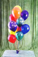 Ankara Sincan hediye sevgilime hediye çiçek  19 adet uçan balon demeti balonlar