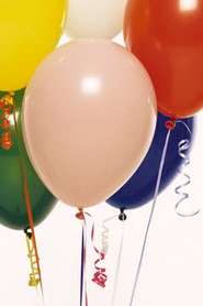 Ankara Sincan internetten çiçek siparişi  19 adet renklis latex uçan balon buketi