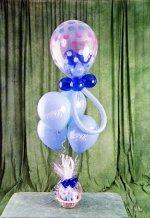 Çiçek siparişi Ankara Sincan anneler günü çiçek yolla  15 adet uçan balon ve küçük kutuda çikolata