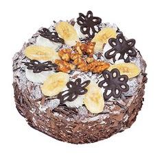 Muzlu çikolatali yas pasta 4 ile 6 kisilik   Ankara Sincan çiçek servisi , çiçekçi adresleri
