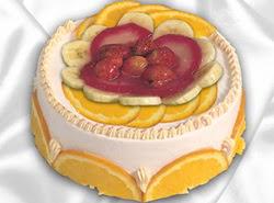 leziz pastane 4 ile 6 kisilik yas pasta meyvali yaspasta  Ankara Sincan İnternetten çiçek siparişi