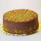 sanatsal pastaci 4 ile 6 kisilik krokan çikolatali yas pasta  Ankara Sincan hediye sevgilime hediye çiçek