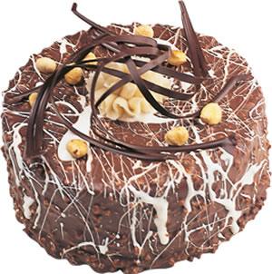 pasta satisi 4 ile 6 kisilik çikolatali yas pasta  Online Ankara Sincan çiçek satışı