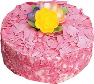 pasta siparisi 4 ile 6 kisilik framboazli yas pasta  Ankara Sincan ucuz çiçek gönder