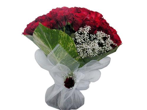 25 adet kirmizi gül görsel çiçek modeli  Ankara Sincan online çiçekçi , çiçek siparişi