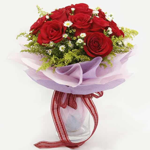 Çiçek gönderme estetikliginiz 11 gül buket  Ankara Sincan çiçek siparişi vermek