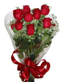 Çiçek sade gül buketi 7 güllü buket  Çiçek siparişi Ankara Sincan anneler günü çiçek yolla
