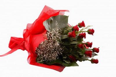 Ankara Sincan online çiçek gönderme sipariş  11 adet kirmizi gül buketi çiçekçi