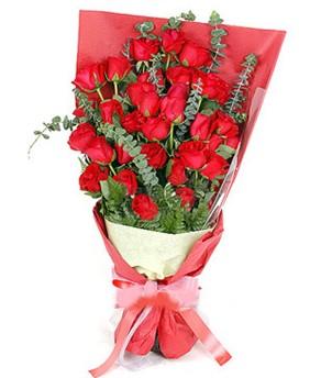 Ankara Sincan hediye çiçek yolla  37 adet kırmızı güllerden buket
