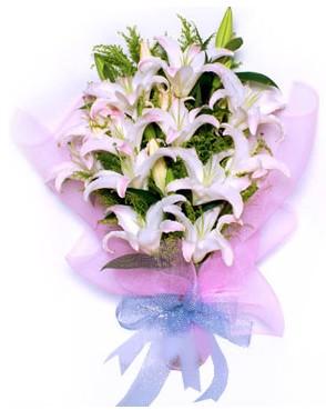 5 dal kazablankadan muhteşem buket  Ankara Sincan internetten çiçek siparişi