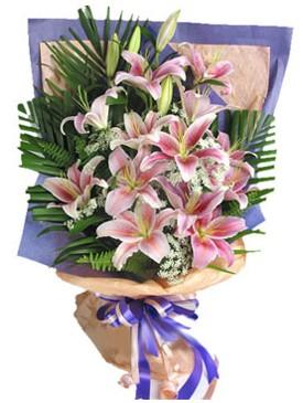 7 dal kazablankadan görsel buket  Ankara Sincan İnternetten çiçek siparişi