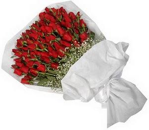 Online Ankara Sincan çiçek satışı  51 adet kırmızı gül buket çiçeği