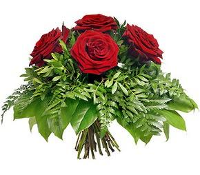 Ankara Sincan çiçek yolla , çiçek gönder , çiçekçi   5 adet kırmızı gülden buket