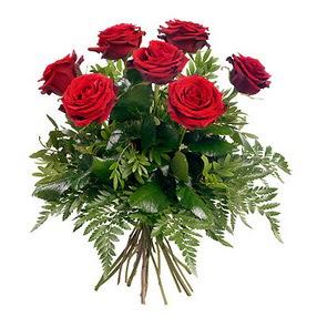 Çiçek siparişi Ankara Sincan anneler günü çiçek yolla  7 adet kırmızı gülden buket