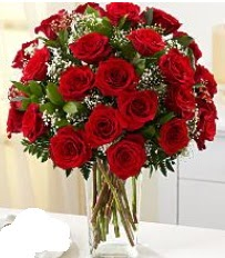 Vazo içerisinde 33 adet kırmızı gül  Ankara Sincan hediye sevgilime hediye çiçek