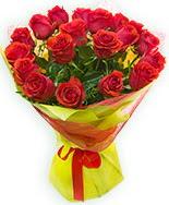 19 Adet kırmızı gül buketi  Ankara Sincan 14 şubat sevgililer günü çiçek