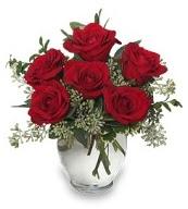 Vazo içerisinde 5 adet kırmızı gül  Ankara Sincan çiçek siparişi vermek