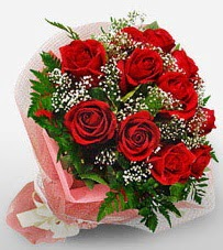 12 adet kırmızı güllerden kaliteli gül  Ankara Sincan 14 şubat sevgililer günü çiçek