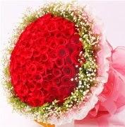 101 adet kırmızı gülden buket  Ankara Sincan hediye sevgilime hediye çiçek