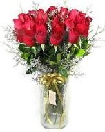 27 adet vazo içerisinde kırmızı gül  Online Ankara Sincan çiçek satışı