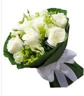 9 adet beyaz gül buketi  Ankara Sincan online çiçek gönderme sipariş